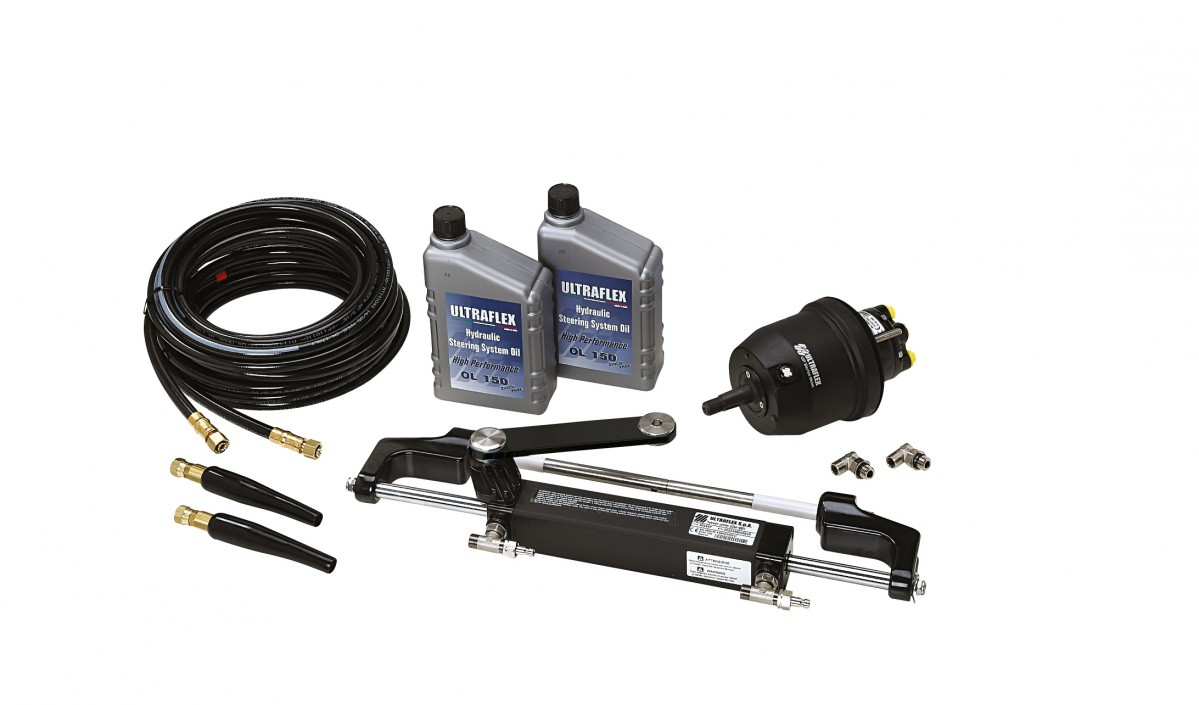 Hydraulic Steering Systems : Directions hydrauliques ultraflex plastimo happy