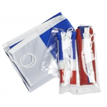 Set of French flags