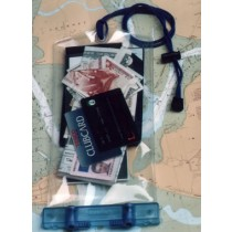 Waterproof pouch for GPS display