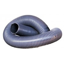 Flexible hose with PVC reinforcing coil