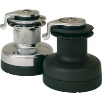 Two reduced speed winches
