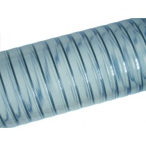 Hose with steel inlay