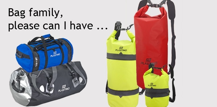 Waterproof and extendable bags