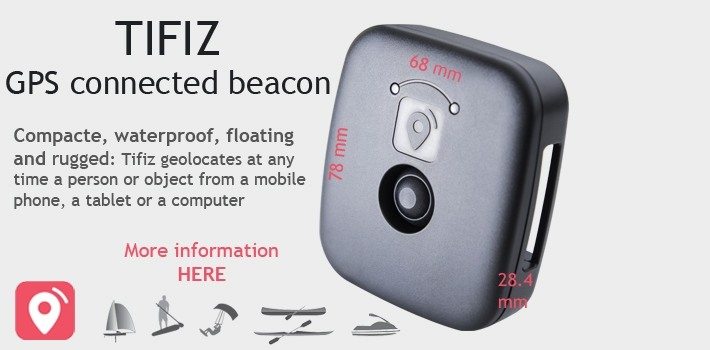 Tifiz beacon, ideal for seaside activities