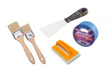 Surface preparation and painting tools