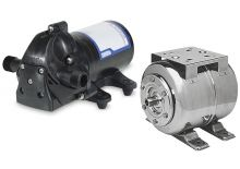 Pressure water system pumps