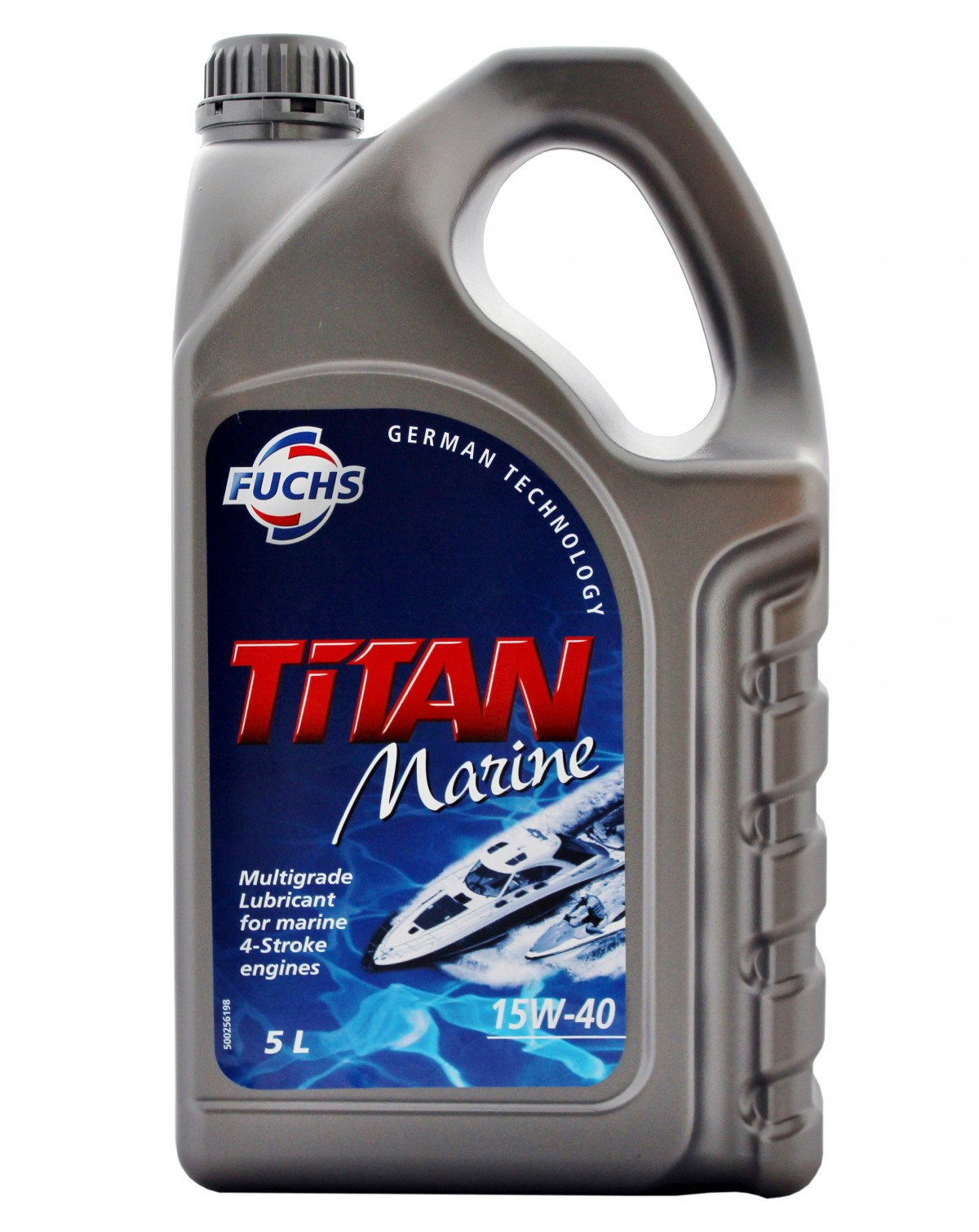 Titan Marine 15W-40 lubricant for 4-stroke inboard and