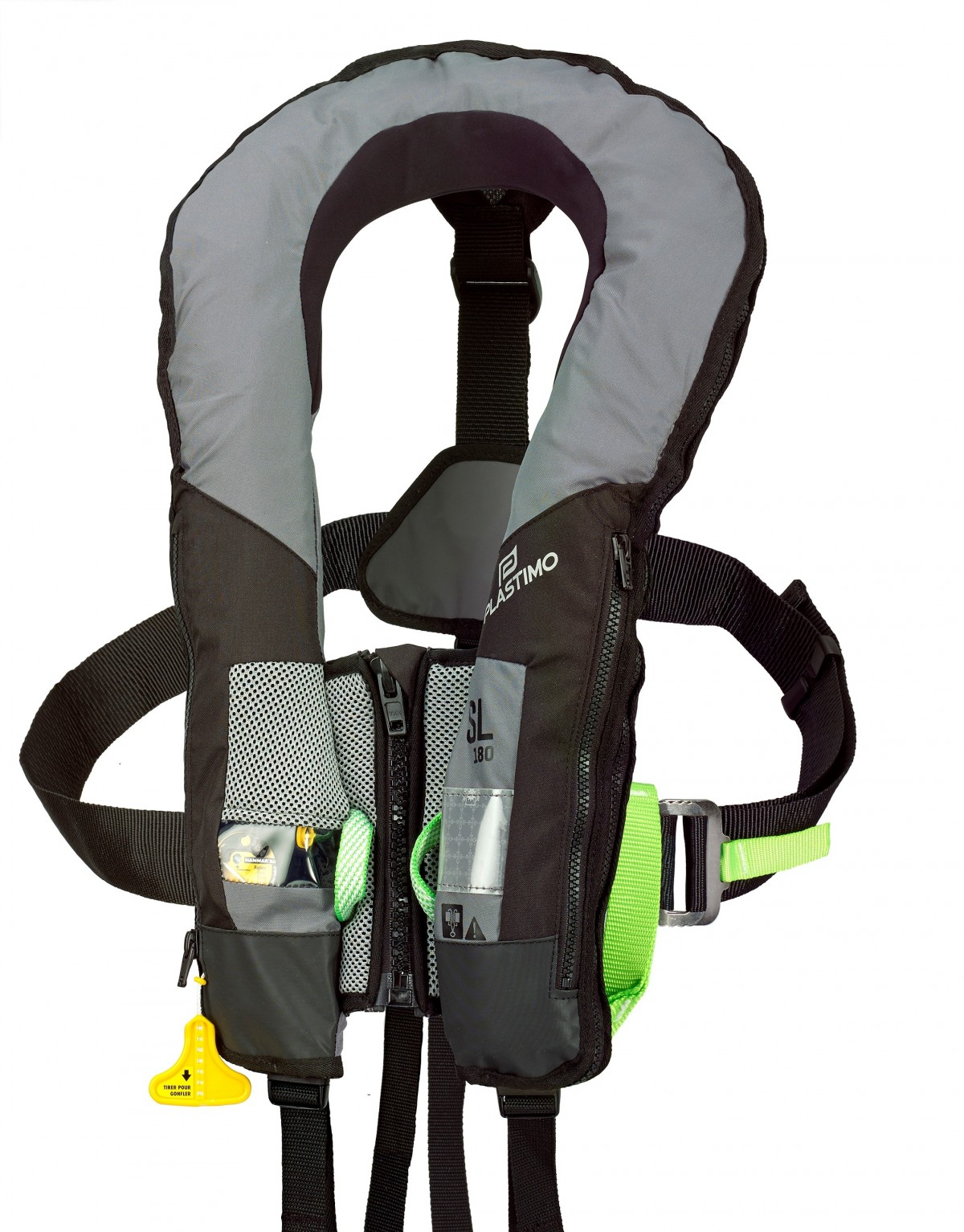 SL180 lifejacket with harness - Inflatable lifejackets - recreational use -  Inflatable lifejackets (recreational) - Safety | Plastimo, happy boating to  youPlastimo