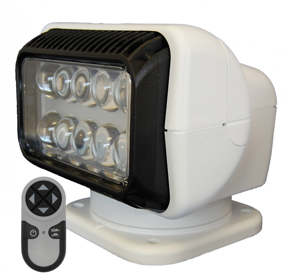 Led remote controlled deck searchlight deck and exterior - Remote control exterior lighting ...
