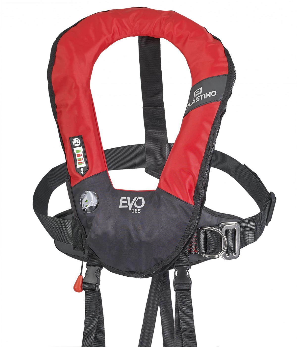 EVO lifejacket with harness