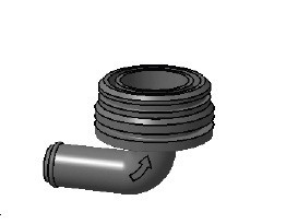 Fittings for Plastimo bilge pumps