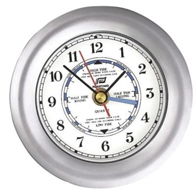 4 Tide Clock With 4 Hands Tide Clock Clocks And Barometers
