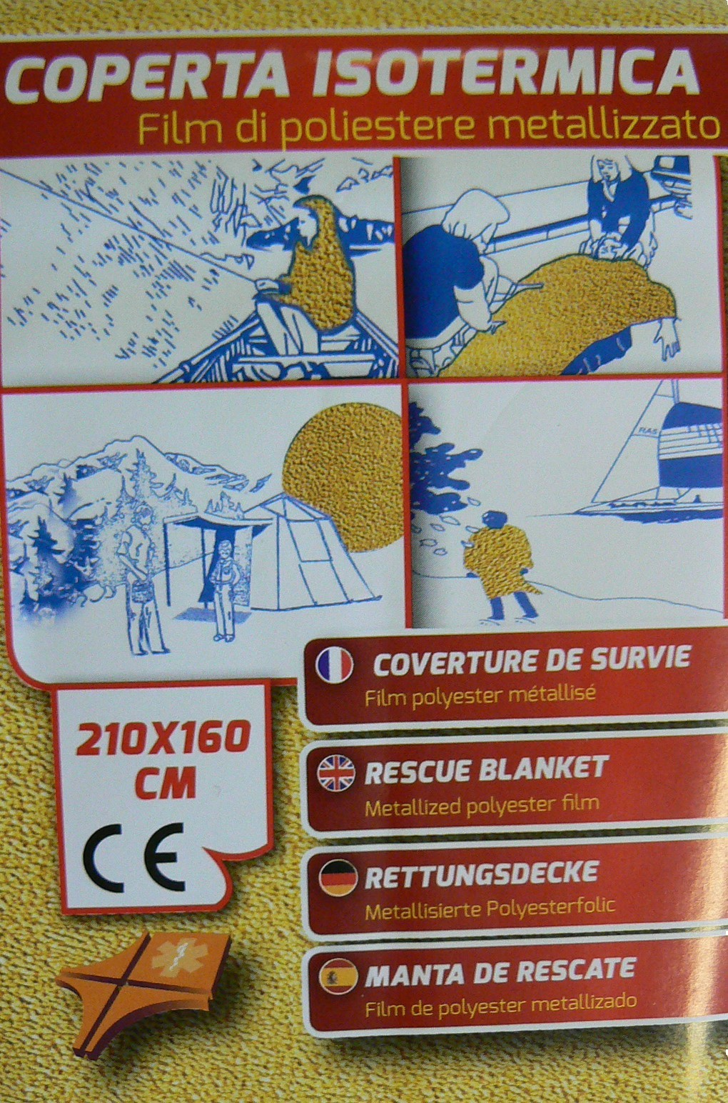 Thermal protective blanket
