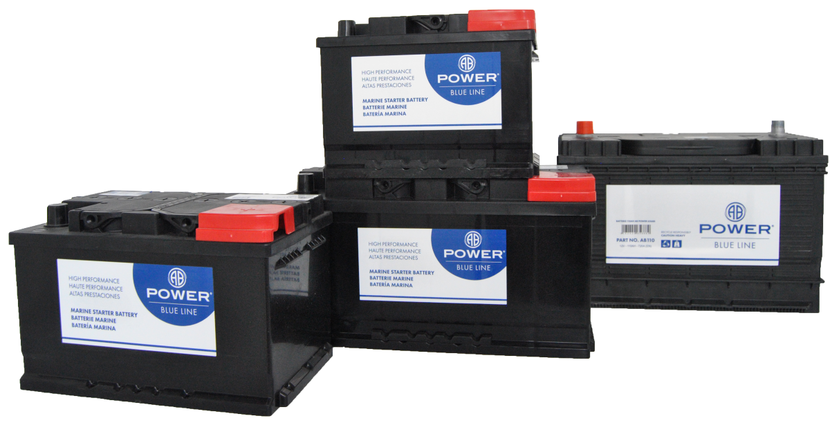 Blue line batteries