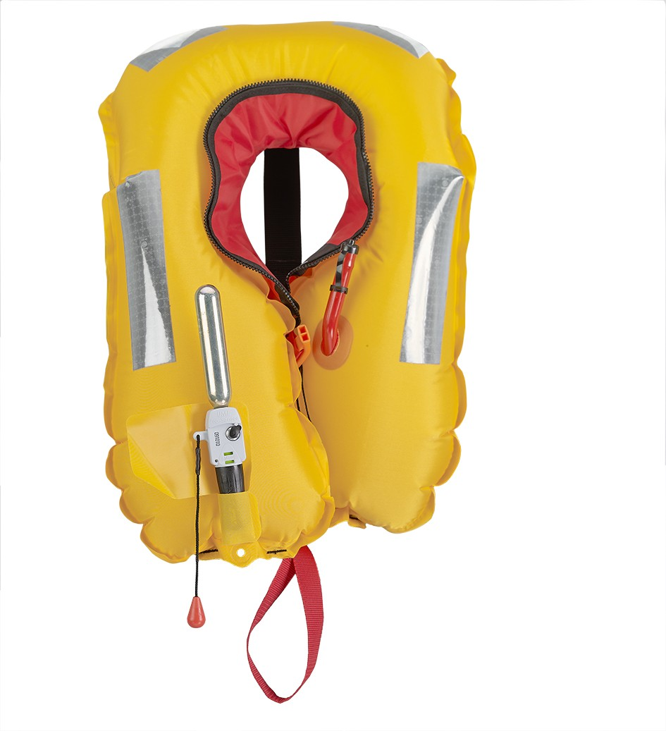 Inflated EVO lifejacket