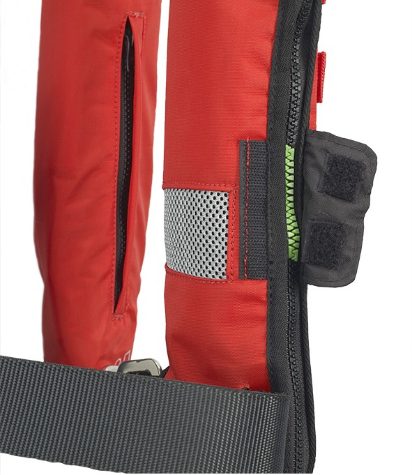 On Hammar model : mesh patch to accelerate the water entry to trigger the lifejacket prompt deployment