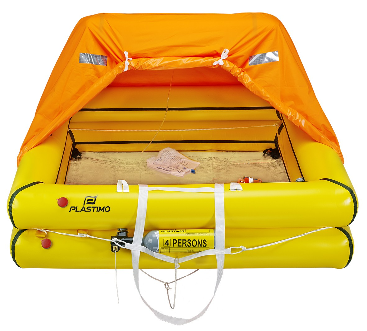 4-man Cruiser liferaft