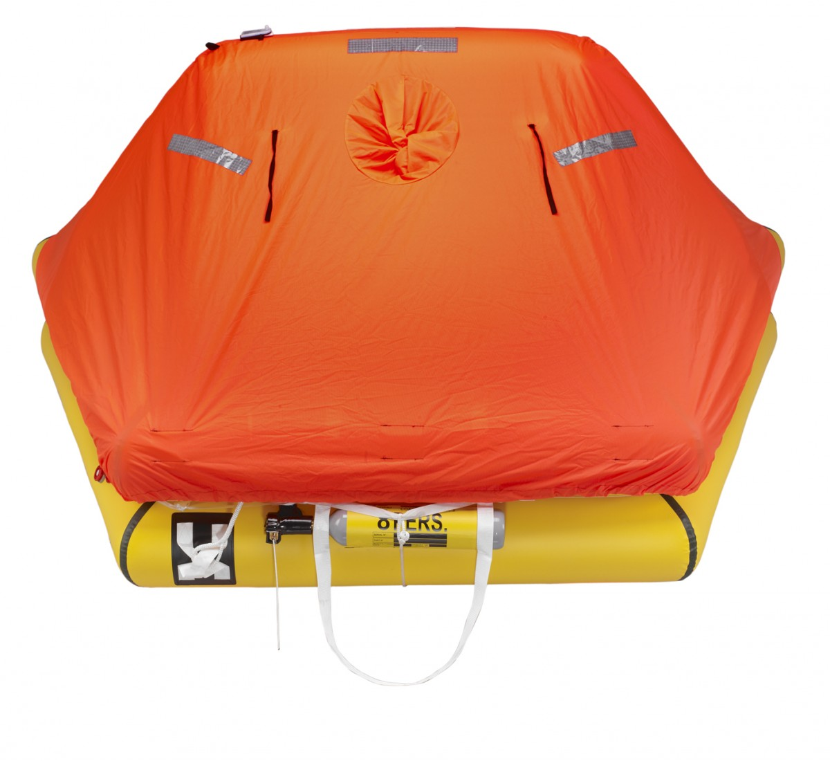 8-man ISO 9650-2 liferaft, closed