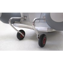 Wheels for tenders  with stabilisers
