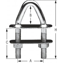 Triangular U-bolt