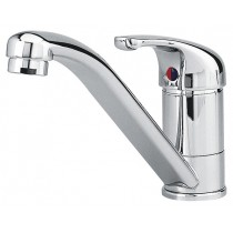 Mixer tap with long spout
