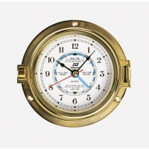 4.5'' tide clock, solid brass