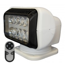 LED remote controlled deck searchlight