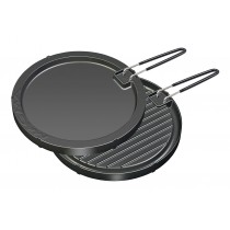 Round reversible griddle Magma