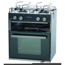 StarLight 2 burners + oven & independent grill cabinet