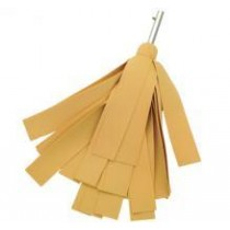 Drying mop with strips