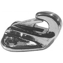 Chromed brass plate snap hook