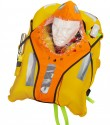 Sprayhood shown on Pilot 290 lifejacket.