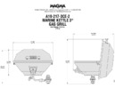 69018 Marine Kettle® 3 Party dimensions