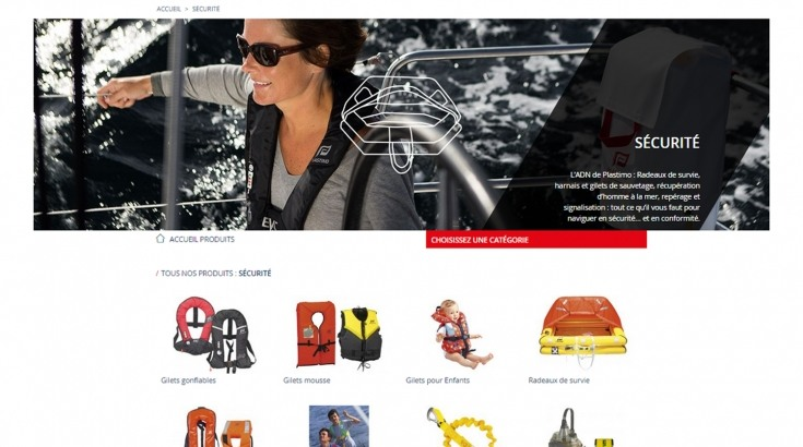 French Press reports about Plastimo new website as « New digital era at Plastimo »